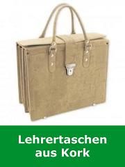 Lehrertaschen aus Kork