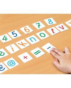 Symbolmix Ziffern und Zeichen Materialpaket