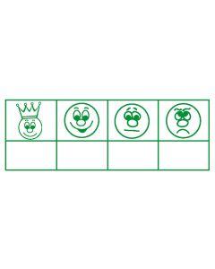 Perpetuumstempel 4 Gesichter