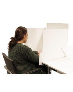 Einfache Sichtschutzkabine zusammenklappbar
