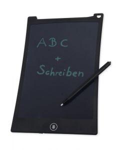Digitale Schreibtafel 26,5 x 17 cm, schwarzes Display