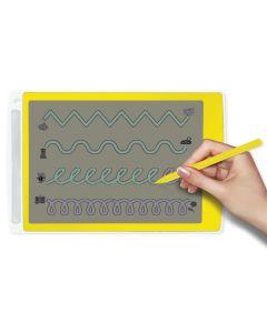 Digitale Schreibtafel 26,5 x 17 cm, transparentes Display