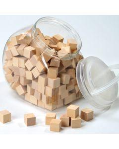 Holzwürfel natur
