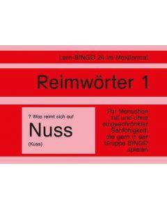 Lern-BINGO 24 Reimwörter 1 PDF