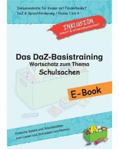 DaZ-Basistraining E-Book Wortschatz Schulsachen