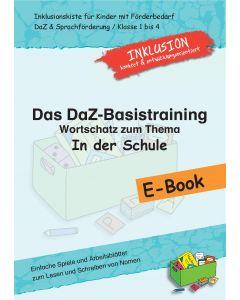 DaZ-Basistraining E-Book Wortschatz In der Schule