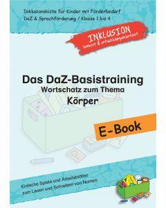 DaZ-Basistraining E-Book Wortschatz Körper