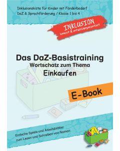 DaZ-Basistraining E-Book Wortschatz Einkaufen