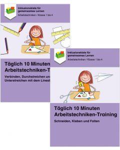 Sparpaket: Täglich 10 Min. Arbeitstechniken PDF