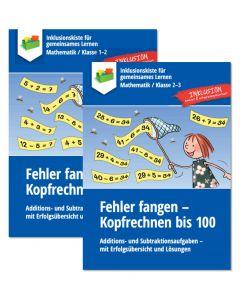 Sparpaket: Fehler fangen Kopfrechnen 20, 100 PDF