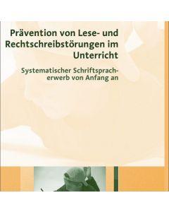 Prävention von Lese- und Rechtschreibstörungen