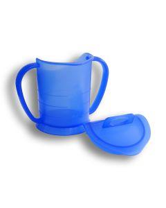 LOOPCUP Becher blau