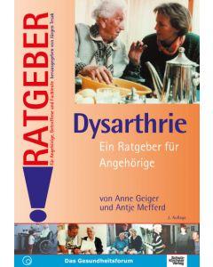 Dysarthrie Ratgeber für Angehörige eBook