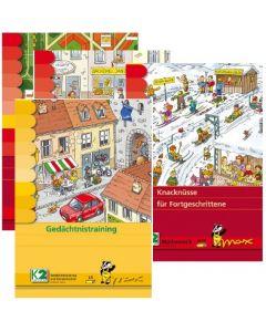 Max Lernpaket Denksport (4 Mappen + Lerngerät)