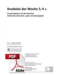 Knobelei der Woche Schuljahre 3 und 4 PDF