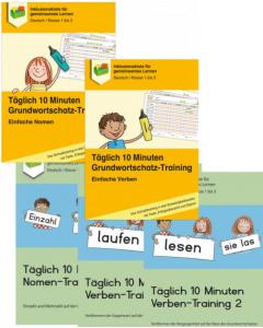 Täglich 10 Minuten Wortschatz-Training Nomen und Verben PDF