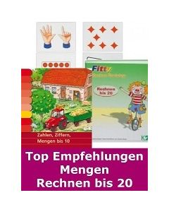 TOP EMPFEHLUNGEN Mengen, Rechnen bis 20