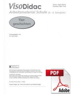 Tiergeschichten Sprach- und Lesematerial PDF