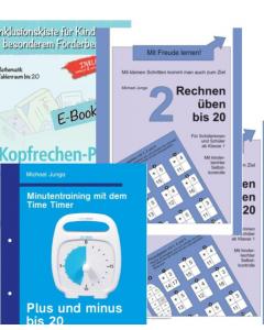 Rechnen 20 Trainingshefte Übungspakete PDF