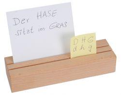 Kartensteckleiste aus Holz
