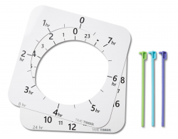 TimeTimer® MAX Zifferblätter, Markierungen