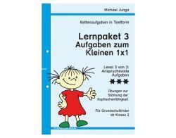 Lernpaket 3 Ketten-Aufgaben Textform  PDF