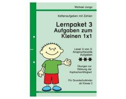 Lernpaket 3 Ketten-Aufgaben  zum 1x1 PDF
