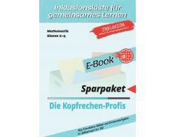 Sparpaket: Kopfrechen-Profis 1x1und 1:1 E-Book