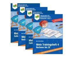 Sparpaket Trainingshefte 1 bis 4 - Bis 10, bis 20 PDF