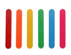 40 bunte Plastikspatel mit Geschmack