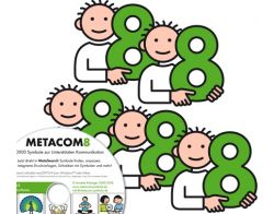 METACOM 8 Symbole - 7er Mehrfachlizenz  DVD