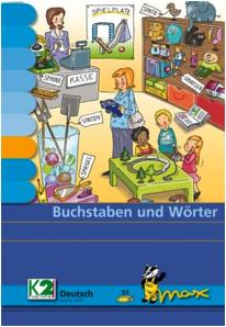 Max Buchstaben und Wörter Lernkarten